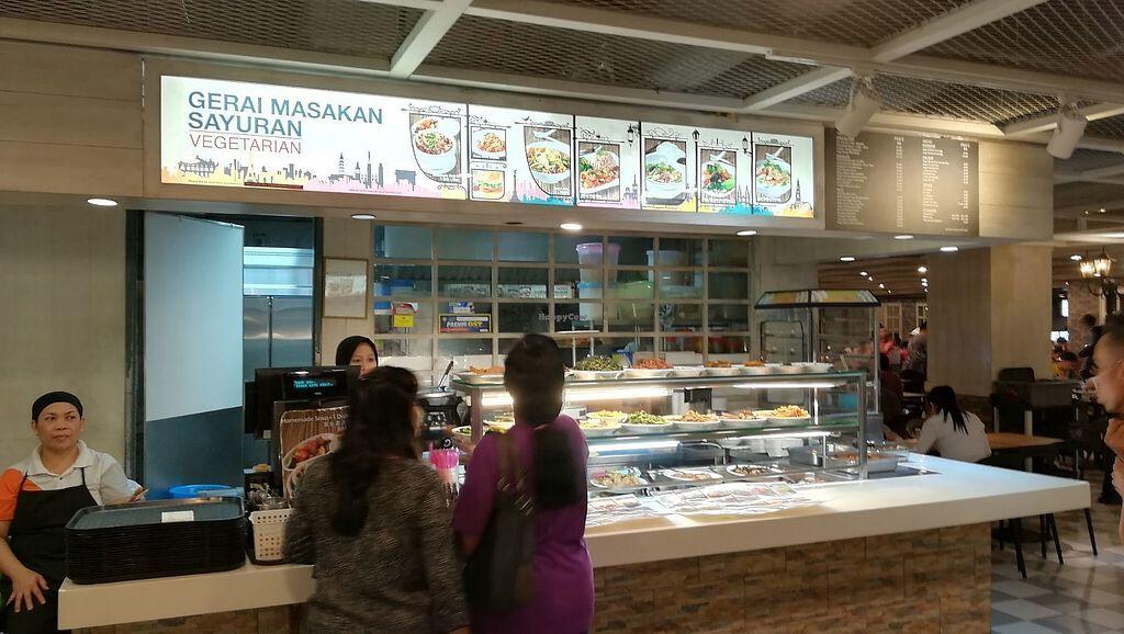 "Photo of Gerai Masakan Sayuran: Vegetarian  by <a href=""/members/profile/ChoyYuen"">ChoyYuen</a> <br/>Image of shopfront <br/> April 9, 2018  - <a href='/contact/abuse/image/9450/382947'>Report</a>"
