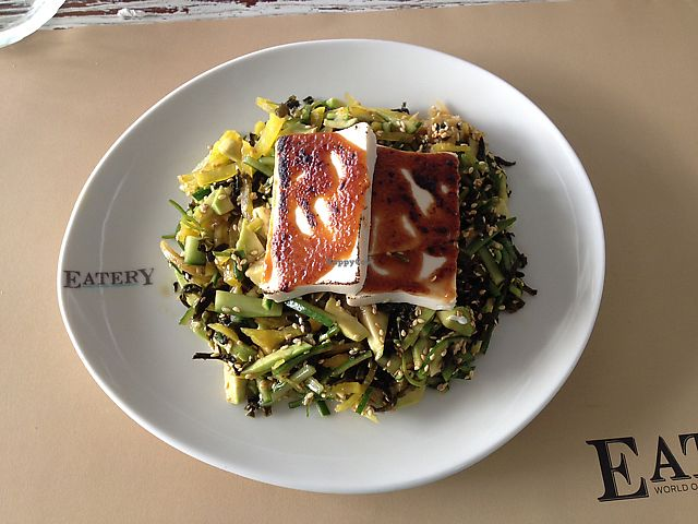 """Photo of Eatery  by <a href=""""/members/profile/Yasminenazmy"""">Yasminenazmy</a> <br/>tofu salad <br/> July 14, 2017  - <a href='/contact/abuse/image/94514/280210'>Report</a>"""