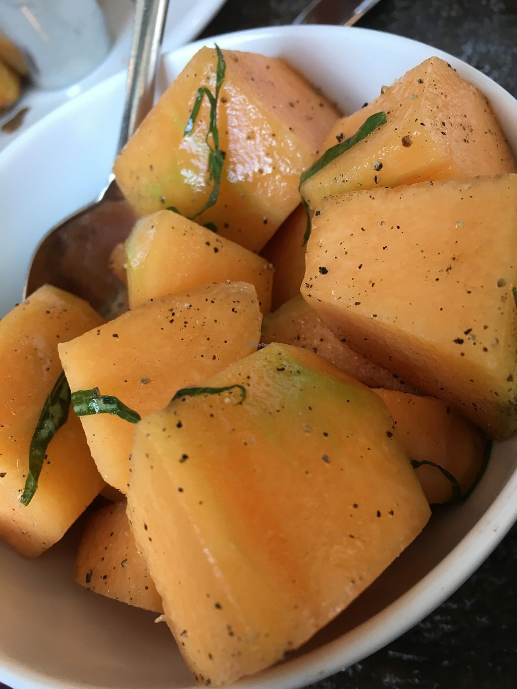 "Photo of Girard  by <a href=""/members/profile/cookiem"">cookiem</a> <br/>Cantaloupe salad (vegan) <br/> June 24, 2017  - <a href='/contact/abuse/image/94532/272846'>Report</a>"