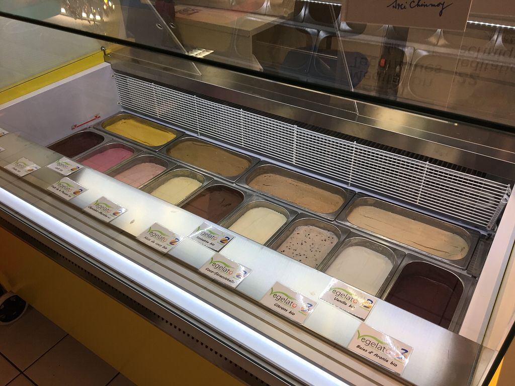 """Photo of Joy Madal  by <a href=""""/members/profile/JoyMadal"""">JoyMadal</a> <br/>13 awesome flavours of Vegan & raw ice cream made from organic product  <br/> June 21, 2017  - <a href='/contact/abuse/image/94543/271897'>Report</a>"""