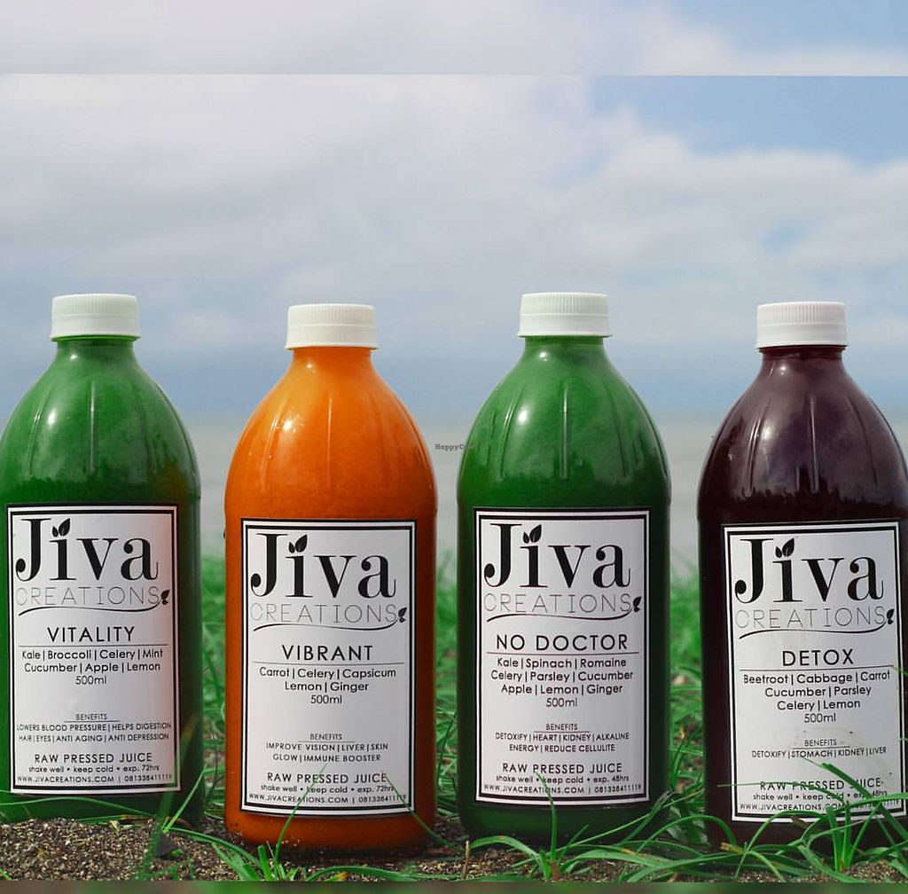 """Photo of Jiva Creations  by <a href=""""/members/profile/Shilian165"""">Shilian165</a> <br/>Cold pressed juice, organic, <br/> June 22, 2017  - <a href='/contact/abuse/image/94550/272405'>Report</a>"""