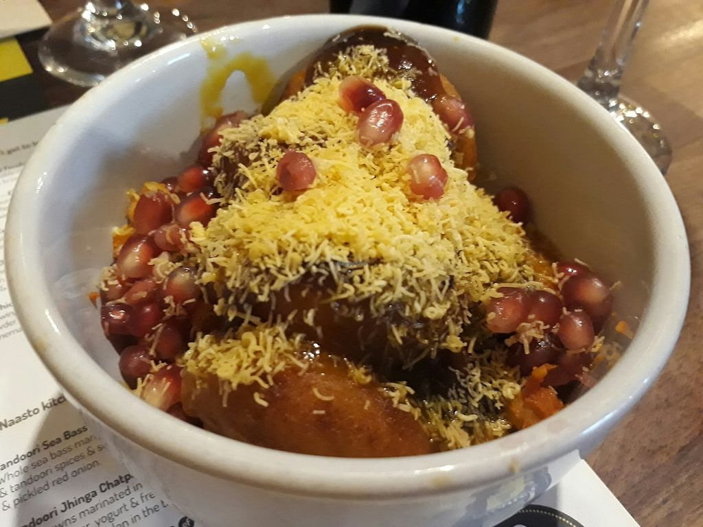 """Photo of Chai Naasto  by <a href=""""/members/profile/LilacHippy"""">LilacHippy</a> <br/>Chow Ki Tikka - ask for this dish without the yoghurt and it is vegan <br/> July 19, 2017  - <a href='/contact/abuse/image/94598/282031'>Report</a>"""