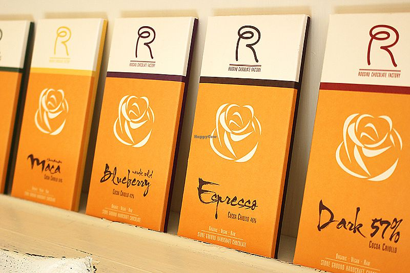 """Photo of Roosiku Cafe  by <a href=""""/members/profile/AivoAlev"""">AivoAlev</a> <br/>Roosiku stone grounded raw vegan organic chocolates  <br/> June 30, 2017  - <a href='/contact/abuse/image/94606/275125'>Report</a>"""
