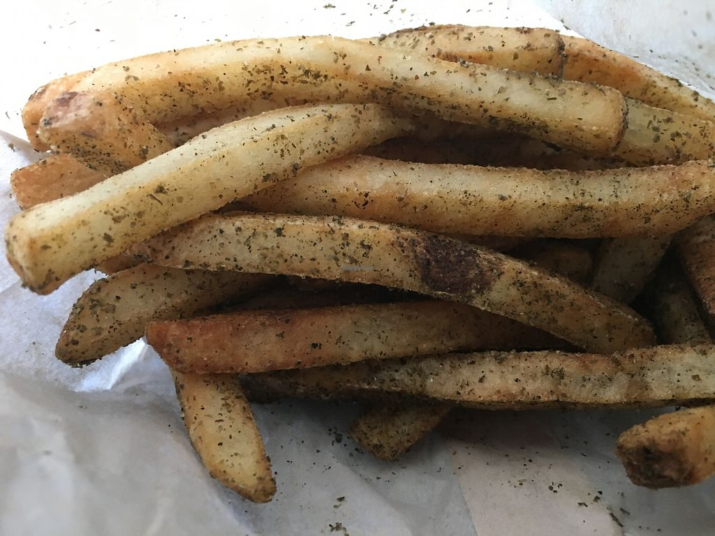 """Photo of Falafel Inc  by <a href=""""/members/profile/cookiem"""">cookiem</a> <br/>Zaatar fries <br/> July 12, 2017  - <a href='/contact/abuse/image/94607/279584'>Report</a>"""