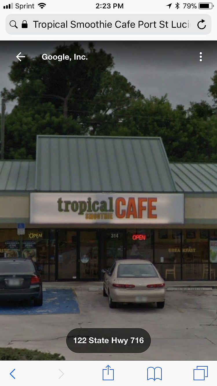 "Photo of Tropical Smoothie Cafe  by <a href=""/members/profile/renee.duquette"">renee.duquette</a> <br/>Outside <br/> January 4, 2018  - <a href='/contact/abuse/image/94609/343008'>Report</a>"