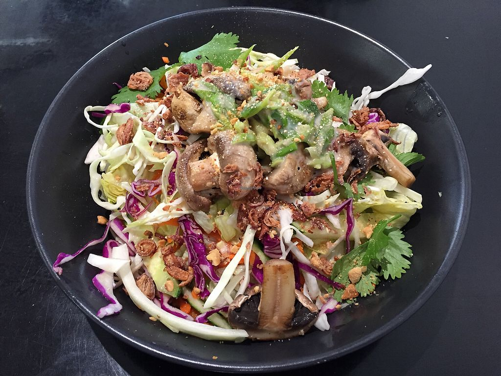 """Photo of Mint and Jam  by <a href=""""/members/profile/Wuji_Luiji"""">Wuji_Luiji</a> <br/>Thick noodle salad <br/> January 5, 2018  - <a href='/contact/abuse/image/94622/343146'>Report</a>"""