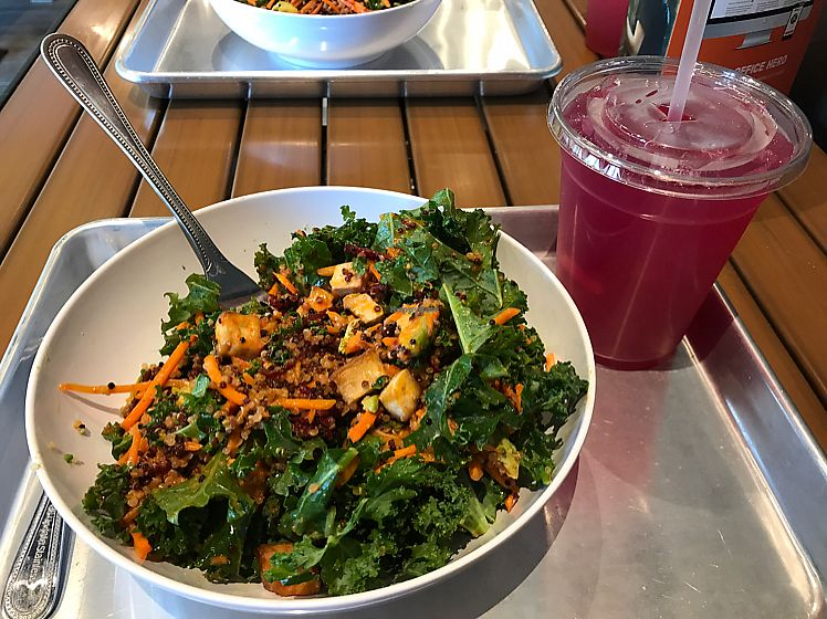 "Photo of CoreLife Eatery  by <a href=""/members/profile/kjconrad88"">kjconrad88</a> <br/>Sriracha Ginger Tofu Grains Bowl + Beet Lemonade <br/> June 24, 2017  - <a href='/contact/abuse/image/94639/272914'>Report</a>"