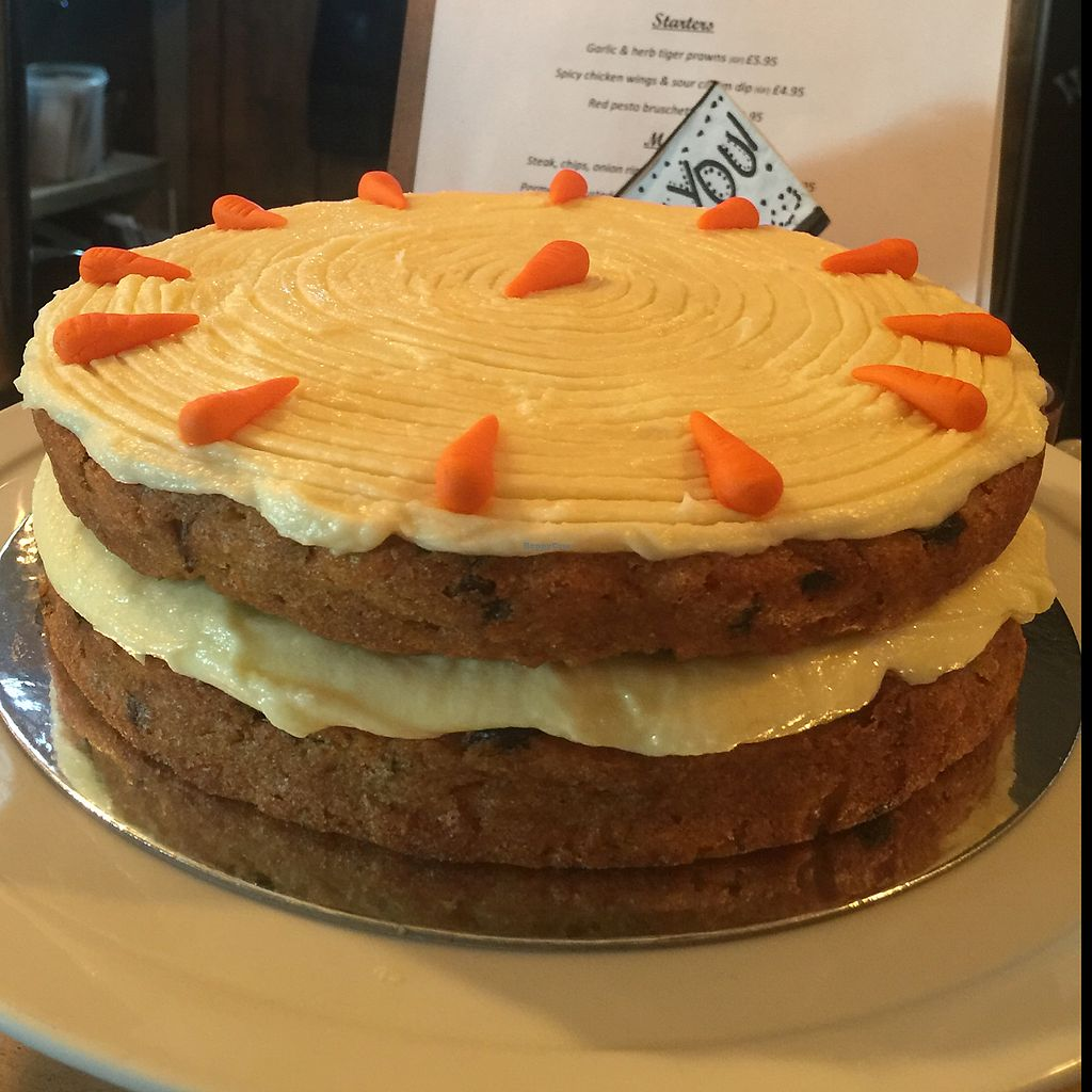 """Photo of Clock House  by <a href=""""/members/profile/ClairaHermet"""">ClairaHermet</a> <br/>vegan carrot cake homemade and YUM  <br/> June 25, 2017  - <a href='/contact/abuse/image/94643/273218'>Report</a>"""