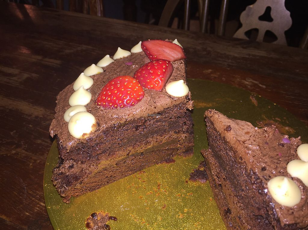"""Photo of Clock House  by <a href=""""/members/profile/ClairaHermet"""">ClairaHermet</a> <br/>vegan chocolate cake  <br/> June 25, 2017  - <a href='/contact/abuse/image/94643/273220'>Report</a>"""