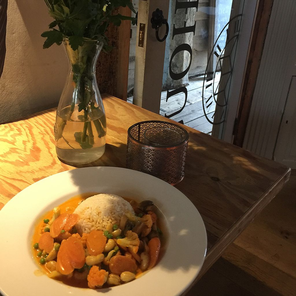 """Photo of Clock House  by <a href=""""/members/profile/ClairaHermet"""">ClairaHermet</a> <br/>red Thai curry  <br/> June 25, 2017  - <a href='/contact/abuse/image/94643/273222'>Report</a>"""