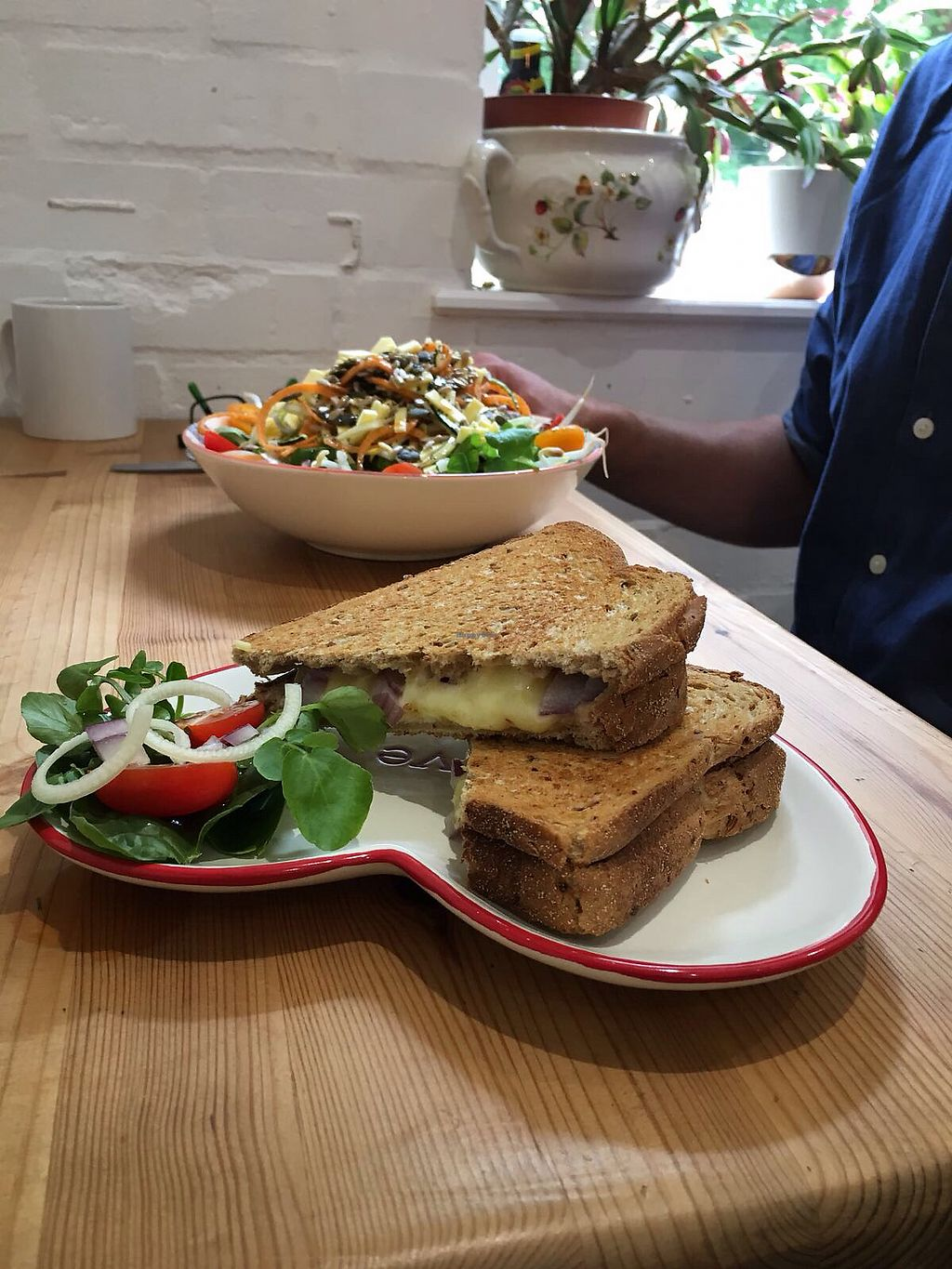 """Photo of The Pineapple Cafe  by <a href=""""/members/profile/Duncan%20Glyde"""">Duncan Glyde</a> <br/>lunch at Pineapple cafe <br/> June 25, 2017  - <a href='/contact/abuse/image/94645/273305'>Report</a>"""
