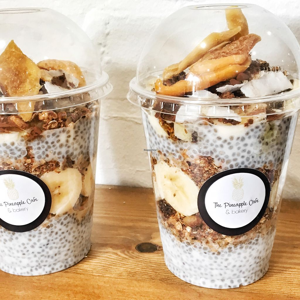 """Photo of The Pineapple Cafe  by <a href=""""/members/profile/KateChandler"""">KateChandler</a> <br/>Chia pudding pots  <br/> September 5, 2017  - <a href='/contact/abuse/image/94645/301120'>Report</a>"""