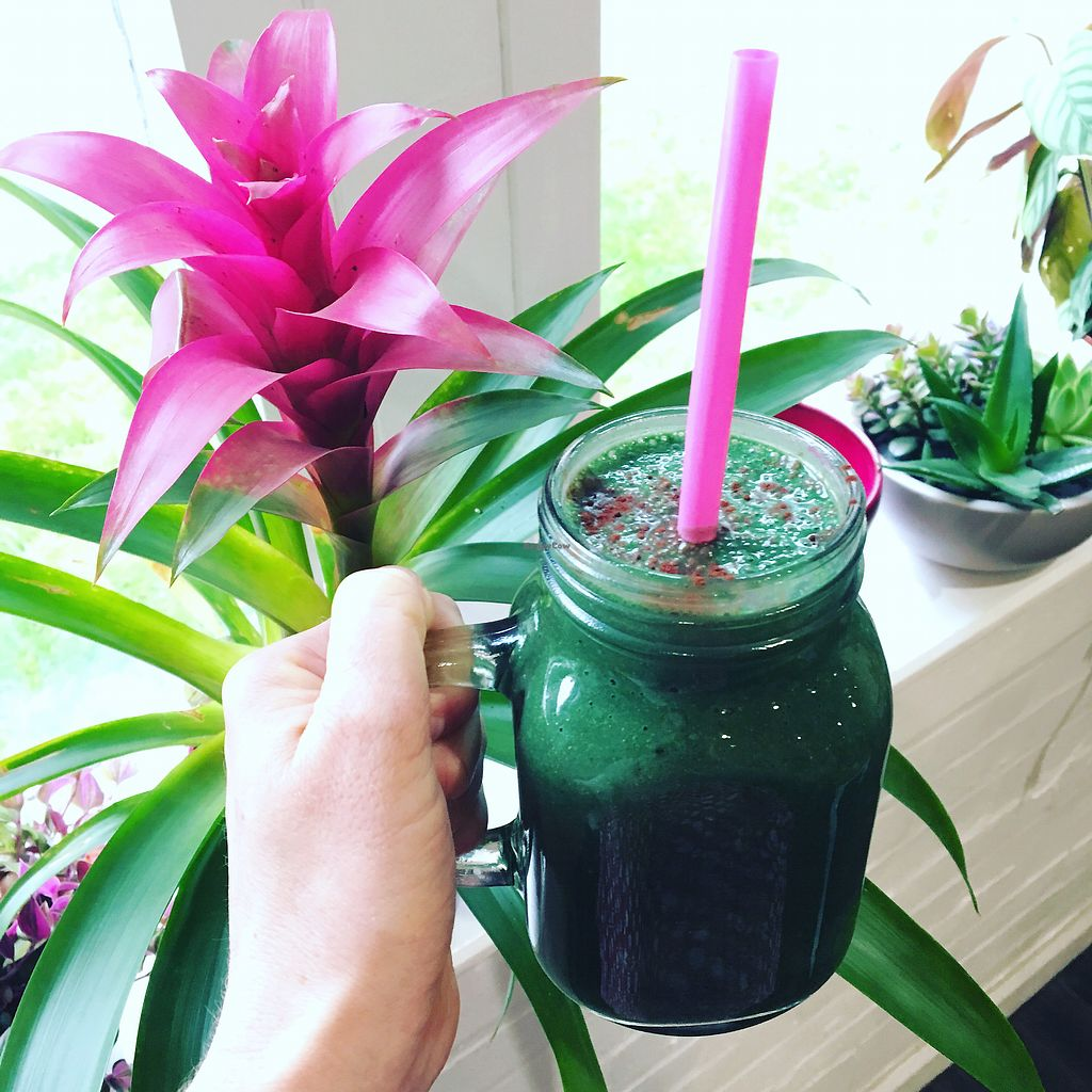 """Photo of The Pineapple Cafe  by <a href=""""/members/profile/KateChandler"""">KateChandler</a> <br/>Green smoothies <br/> September 5, 2017  - <a href='/contact/abuse/image/94645/301121'>Report</a>"""