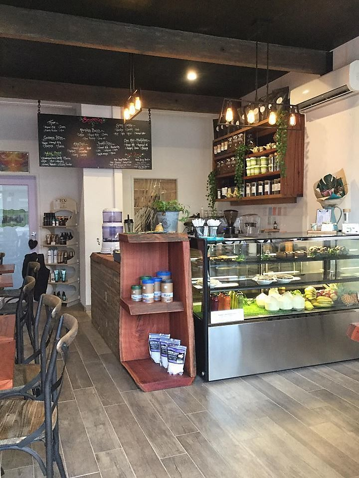 """Photo of Rawsome Earth Cafe  by <a href=""""/members/profile/rawsome.earth.cafe"""">rawsome.earth.cafe</a> <br/>Rawsome Earth Cafe's wonderful atmosphere and yummy organic food choices! <br/> June 25, 2017  - <a href='/contact/abuse/image/94670/273134'>Report</a>"""