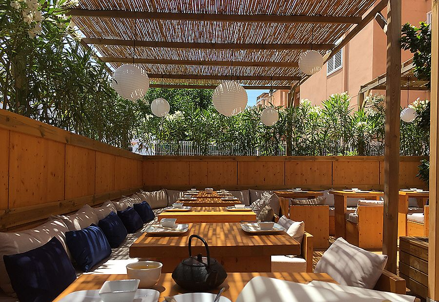 """Photo of Kodo Restaurante  by <a href=""""/members/profile/Iaelev"""">Iaelev</a> <br/>Kodo's terrace <br/> July 2, 2017  - <a href='/contact/abuse/image/94679/275980'>Report</a>"""