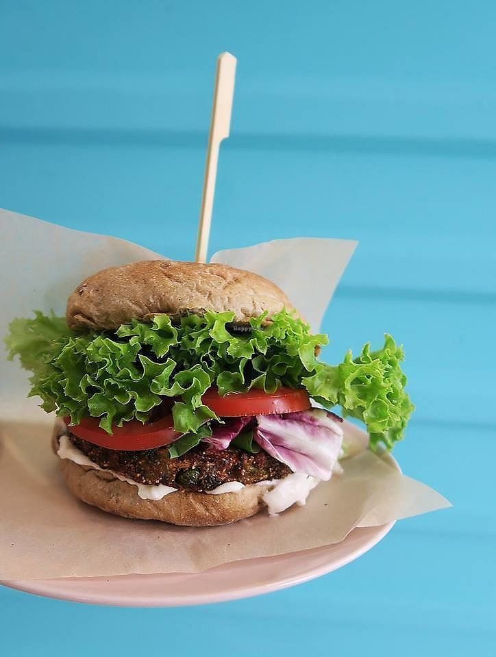 """Photo of Freshco  by <a href=""""/members/profile/Nikolate"""">Nikolate</a> <br/>Vegan burger <br/> July 19, 2017  - <a href='/contact/abuse/image/94686/282167'>Report</a>"""