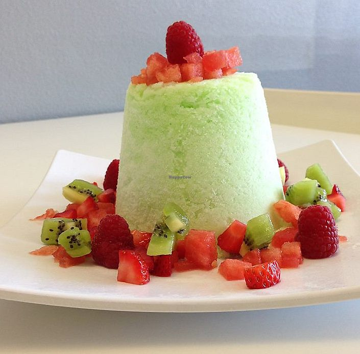 """Photo of Vampire Penguin  by <a href=""""/members/profile/VeganSquid"""">VeganSquid</a> <br/>Vegan Honey Dew Snow with Strawberries, Watermelon, Kiwi, and Raspberries <br/> June 24, 2017  - <a href='/contact/abuse/image/94697/273055'>Report</a>"""