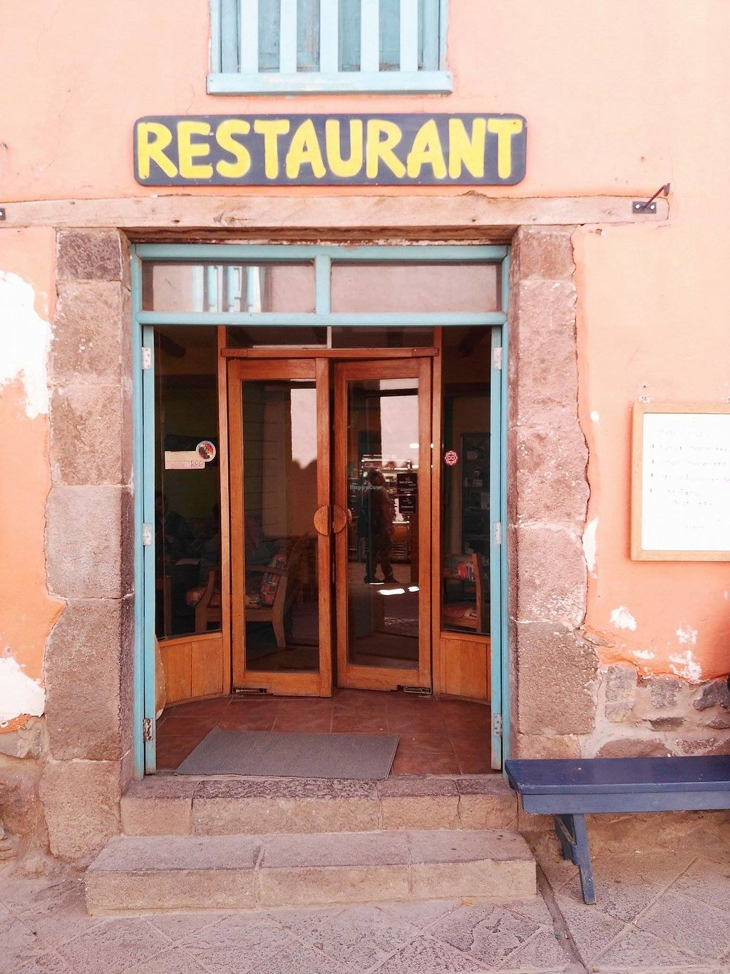 """Photo of Ulrike's Cafe  by <a href=""""/members/profile/highonhealth"""">highonhealth</a> <br/>The front door to Ulrike's! <br/> June 30, 2017  - <a href='/contact/abuse/image/94737/275349'>Report</a>"""