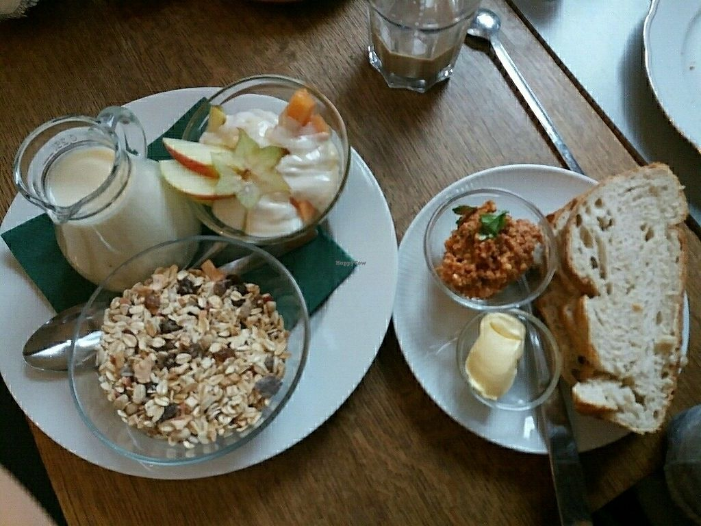 """Photo of Kleines Cafe  by <a href=""""/members/profile/Giniimaus"""">Giniimaus</a> <br/>Vegan breakfast  <br/> June 28, 2017  - <a href='/contact/abuse/image/94760/274273'>Report</a>"""