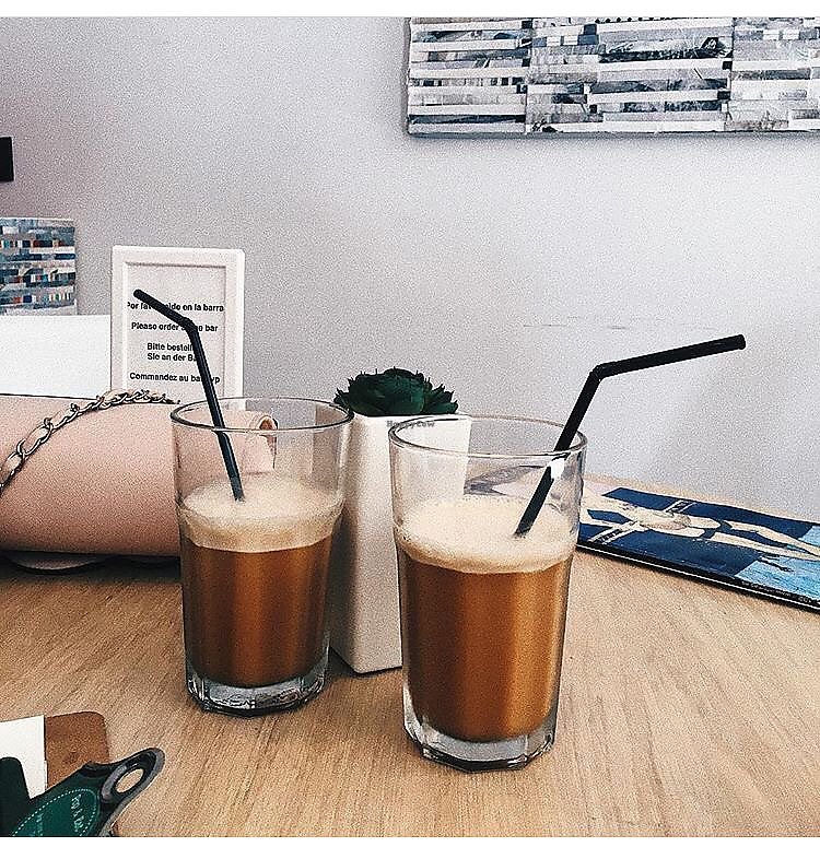 """Photo of CLOSED: Pop & Eat  by <a href=""""/members/profile/IevaRai%C5%A1utyt%C4%97"""">IevaRaišutytė</a> <br/>Favorite frappe with almond milk?? <br/> July 19, 2017  - <a href='/contact/abuse/image/94763/282150'>Report</a>"""