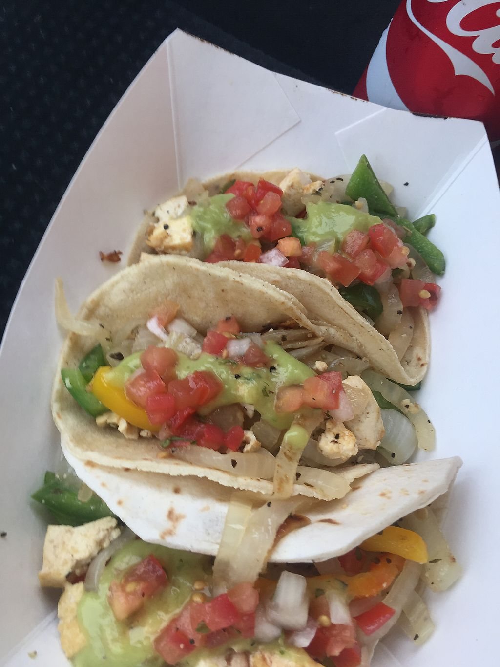"Photo of Casa Mexicana - Food Truck  by <a href=""/members/profile/Bgeezy"">Bgeezy</a> <br/>tofu fajitas <br/> August 15, 2017  - <a href='/contact/abuse/image/94768/293081'>Report</a>"