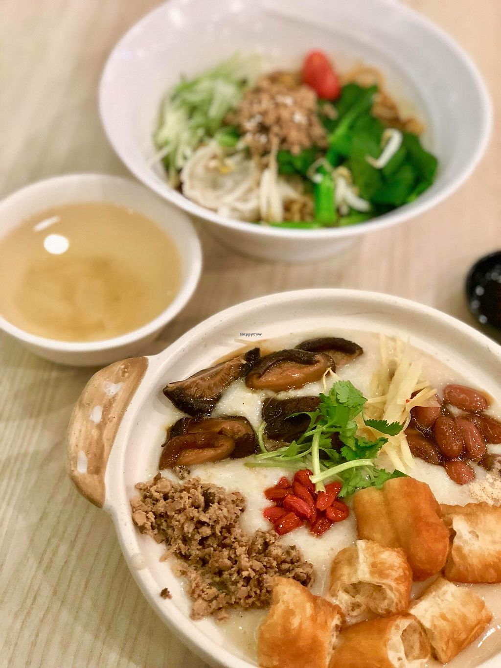 """Photo of Truly Vegetarian  by <a href=""""/members/profile/CherylQuincy"""">CherylQuincy</a> <br/>Signature Claypot Dang Gui Soya Porridge <br/> January 17, 2018  - <a href='/contact/abuse/image/94769/347399'>Report</a>"""