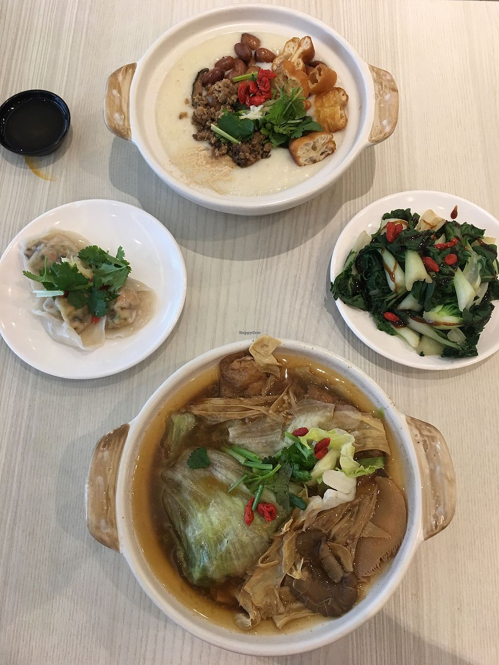 """Photo of Truly Vegetarian  by <a href=""""/members/profile/BernardKoh"""">BernardKoh</a> <br/>Dinner with Mama :) <br/> February 20, 2018  - <a href='/contact/abuse/image/94769/361637'>Report</a>"""
