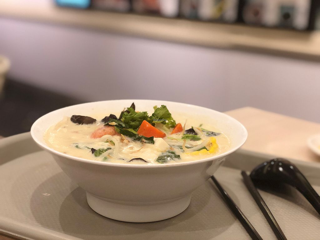 """Photo of Truly Vegetarian  by <a href=""""/members/profile/Artofeden"""">Artofeden</a> <br/>Soya dumplings soup *** <br/> March 11, 2018  - <a href='/contact/abuse/image/94769/369301'>Report</a>"""