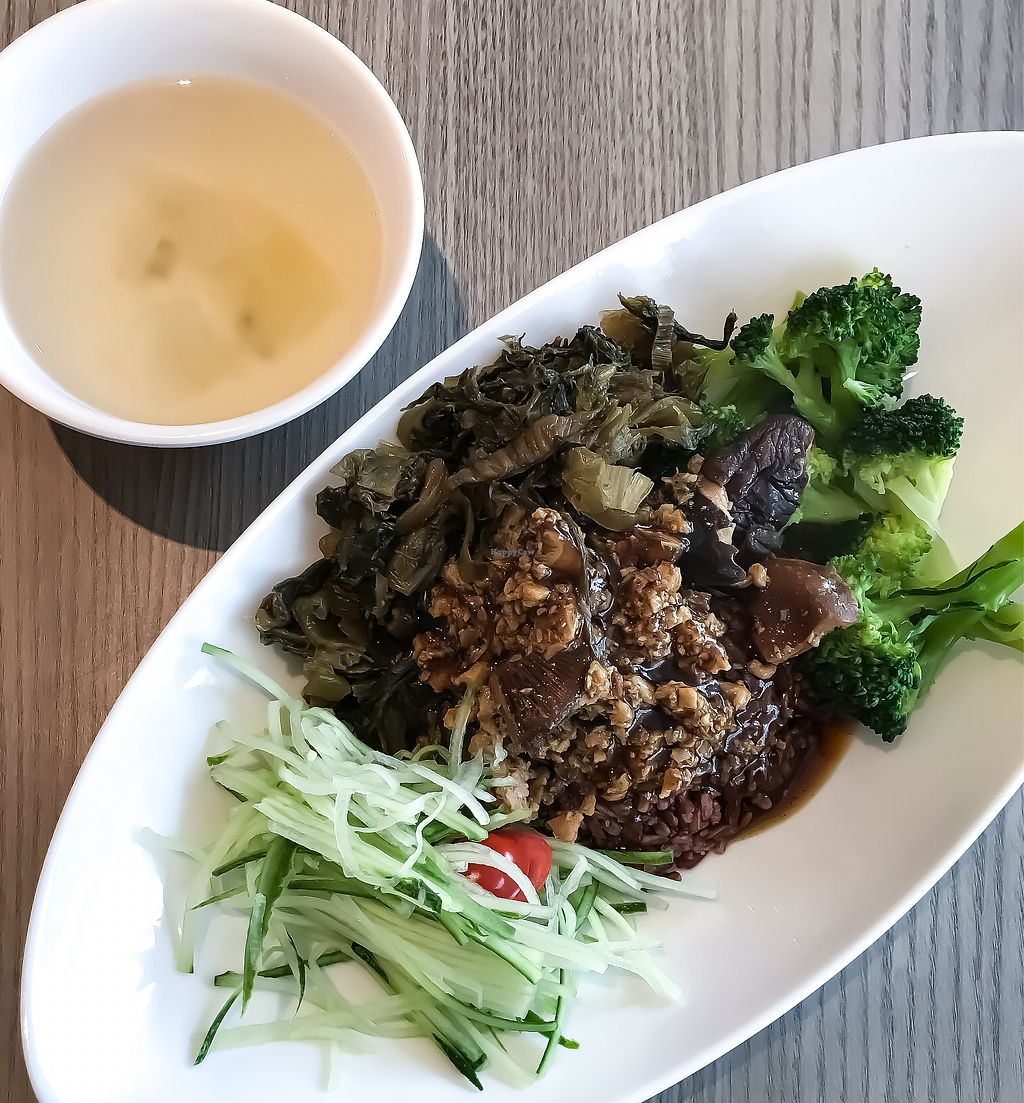 """Photo of Truly Vegetarian  by <a href=""""/members/profile/Sweetveganneko"""">Sweetveganneko</a> <br/>Taiwanese rice <br/> March 12, 2018  - <a href='/contact/abuse/image/94769/369710'>Report</a>"""