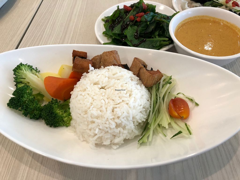 """Photo of Truly Vegetarian  by <a href=""""/members/profile/AmyLeySzeThoo"""">AmyLeySzeThoo</a> <br/>Curry Fish Rice (Vegan) <br/> March 30, 2018  - <a href='/contact/abuse/image/94769/378197'>Report</a>"""