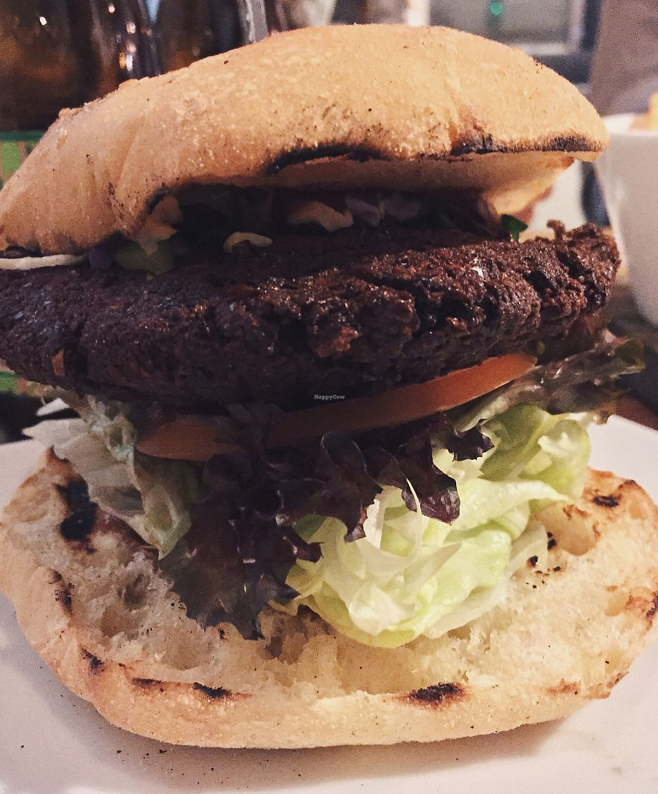 "Photo of Jus Burgers  by <a href=""/members/profile/caitjoy"">caitjoy</a> <br/>falafel burger <br/> September 30, 2017  - <a href='/contact/abuse/image/94776/310181'>Report</a>"