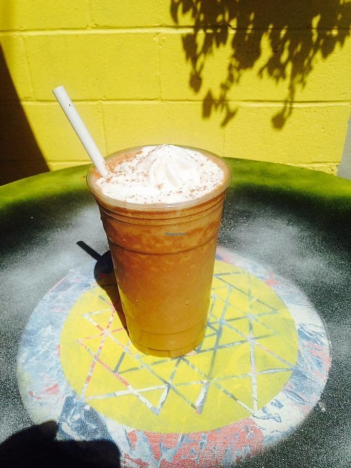 """Photo of The Enlightened Coconut - Food Trailer  by <a href=""""/members/profile/ilovedjwho"""">ilovedjwho</a> <br/>Chocolate Sin Coconut Shake with coconut whip-cream on top! <br/> June 26, 2017  - <a href='/contact/abuse/image/94791/273547'>Report</a>"""