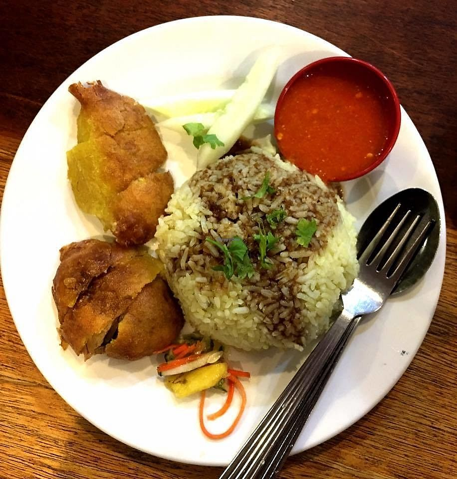 """Photo of Harmony Kopitiam  by <a href=""""/members/profile/JimmySeah"""">JimmySeah</a> <br/>fried chicken rice  <br/> June 26, 2017  - <a href='/contact/abuse/image/94815/273572'>Report</a>"""