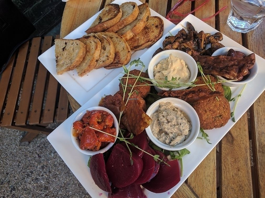 """Photo of The Garden Plate  by <a href=""""/members/profile/wildeyedgirl"""">wildeyedgirl</a> <br/>vegan share plate <br/> June 28, 2017  - <a href='/contact/abuse/image/94823/274190'>Report</a>"""