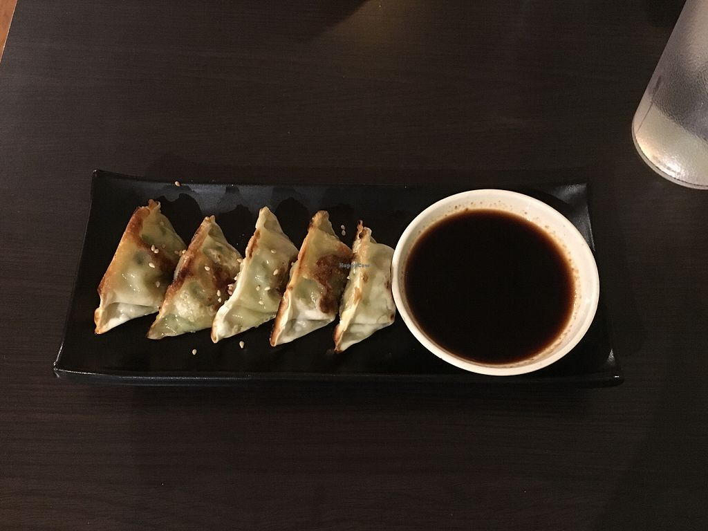 """Photo of Sushi Keyaki  by <a href=""""/members/profile/JuliettePayer"""">JuliettePayer</a> <br/>vegan dumplings ! <br/> August 17, 2017  - <a href='/contact/abuse/image/94846/293684'>Report</a>"""