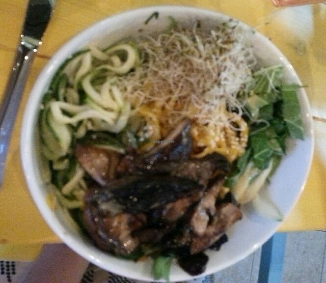 """Photo of Root 8  by <a href=""""/members/profile/slithers"""">slithers</a> <br/>Pho bowl w/ noodles veggies <br/> June 26, 2017  - <a href='/contact/abuse/image/94853/273749'>Report</a>"""