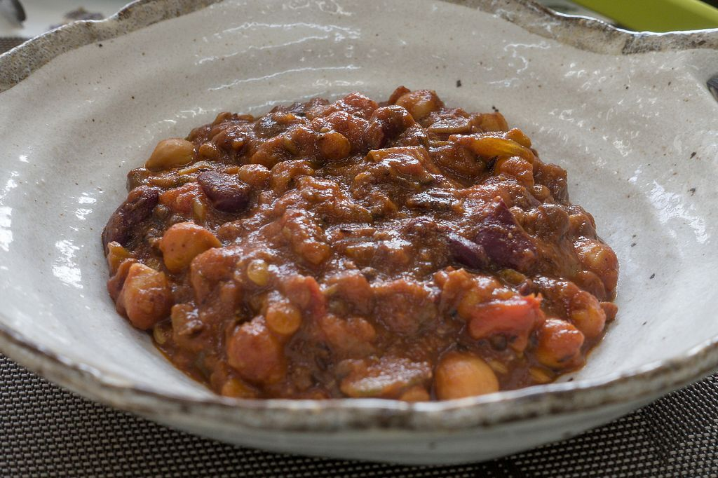 "Photo of Sansankan  by <a href=""/members/profile/JVeggie"">JVeggie</a> <br/>Hearty American-style bean curry <br/> July 17, 2017  - <a href='/contact/abuse/image/94874/281598'>Report</a>"