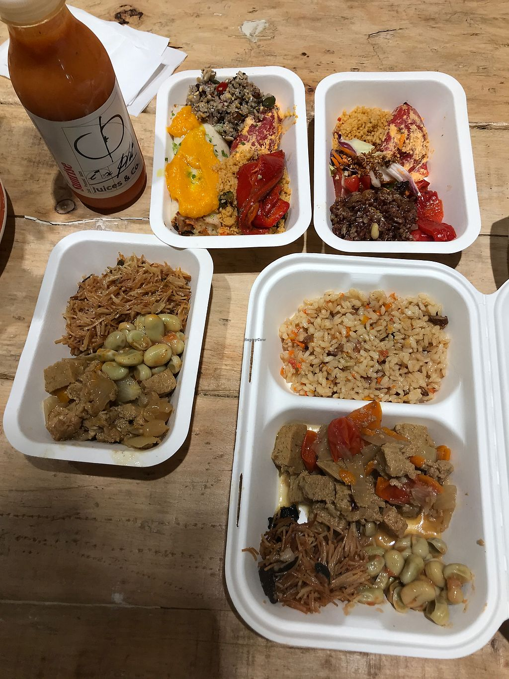 """Photo of Vega Raw Organic  by <a href=""""/members/profile/Emiii"""">Emiii</a> <br/>The food from the buffet. Around 24€ with the juice bottle <br/> September 9, 2017  - <a href='/contact/abuse/image/94882/302496'>Report</a>"""