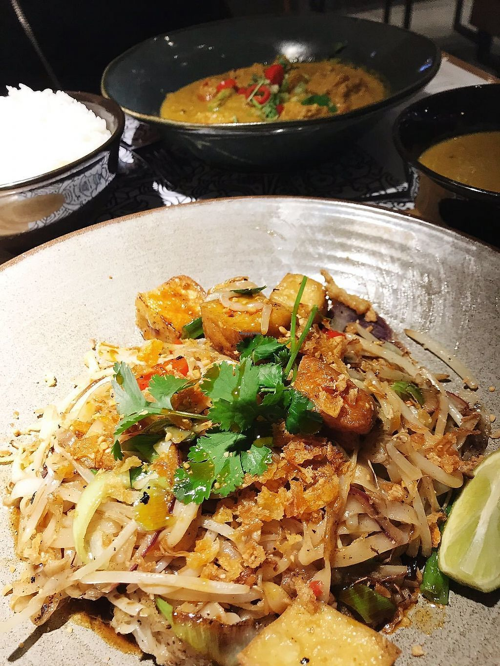 "Photo of Wagamama  by <a href=""/members/profile/TARAMCDONALD"">TARAMCDONALD</a> <br/>Pad thai with fried tofu <br/> January 17, 2018  - <a href='/contact/abuse/image/94890/347516'>Report</a>"