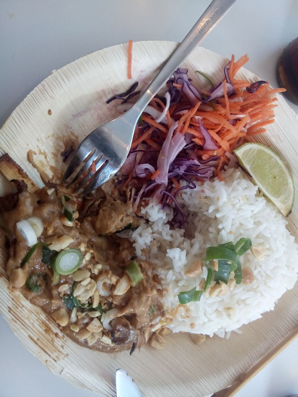 """Photo of V-Box  by <a href=""""/members/profile/RavenW"""">RavenW</a> <br/>Satay with peanut sauce and rice <br/> February 1, 2018  - <a href='/contact/abuse/image/94891/353674'>Report</a>"""