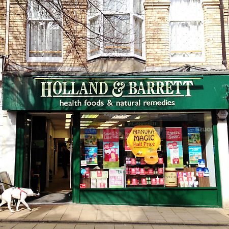 """Photo of Holland & Barrett  by <a href=""""/members/profile/TARAMCDONALD"""">TARAMCDONALD</a> <br/>outside of shop <br/> June 27, 2017  - <a href='/contact/abuse/image/94896/274081'>Report</a>"""