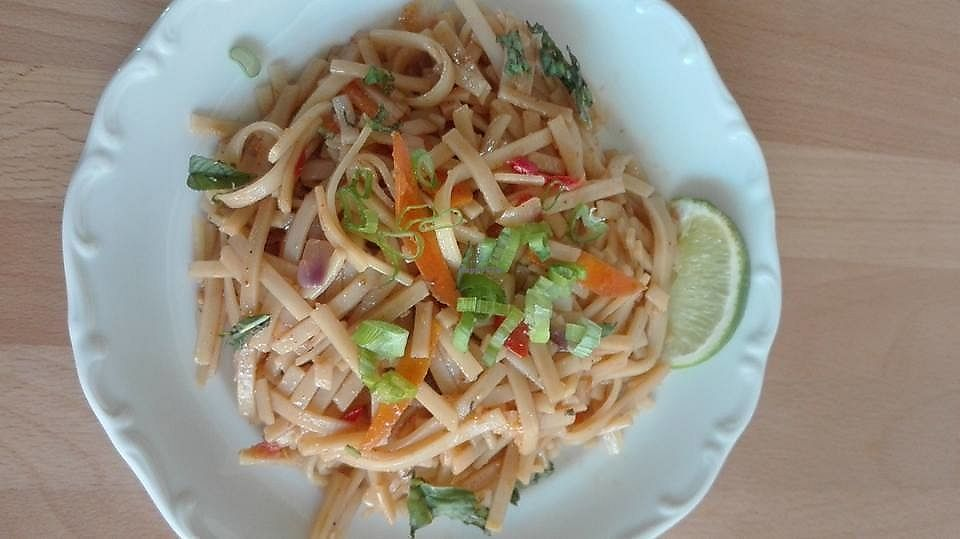 """Photo of La Fourchette Bio  by <a href=""""/members/profile/community5"""">community5</a> <br/>Asian Noodles <br/> July 26, 2017  - <a href='/contact/abuse/image/94899/285317'>Report</a>"""