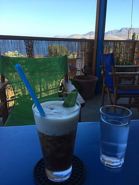 """Photo of Monster Cafe  by <a href=""""/members/profile/marepeters"""">marepeters</a> <br/>Enjoying a Ice Tea at the Monster Cafe <br/> July 2, 2017  - <a href='/contact/abuse/image/94947/275908'>Report</a>"""