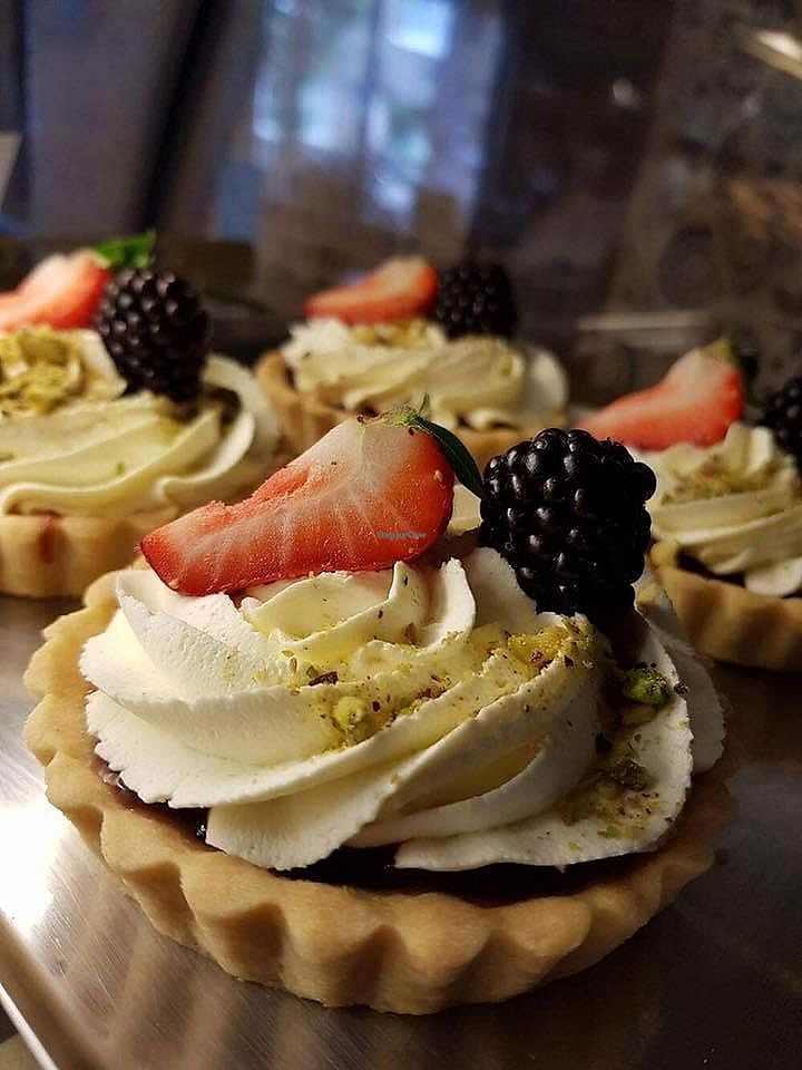 """Photo of Cafe Gusto  by <a href=""""/members/profile/community5"""">community5</a> <br/>Vegan fruit tarts <br/> July 29, 2017  - <a href='/contact/abuse/image/94951/286284'>Report</a>"""