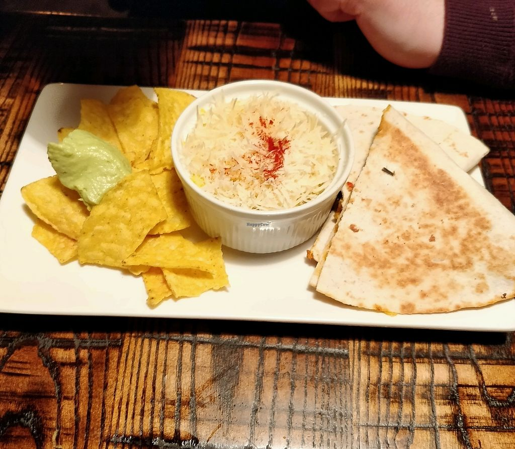 "Photo of The Tipsy Vegan  by <a href=""/members/profile/Plumesworld"">Plumesworld</a> <br/>quesadillas <br/> March 10, 2018  - <a href='/contact/abuse/image/94965/369017'>Report</a>"