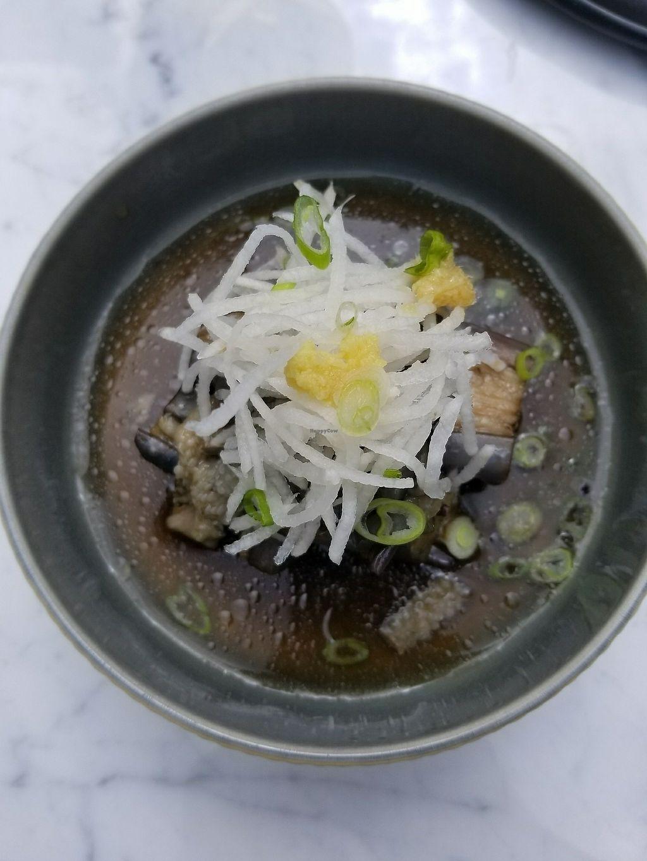 "Photo of LOV - Montagne  by <a href=""/members/profile/tikhonova87"">tikhonova87</a> <br/>japoneese eggplant appetizer <br/> July 5, 2017  - <a href='/contact/abuse/image/94976/276852'>Report</a>"