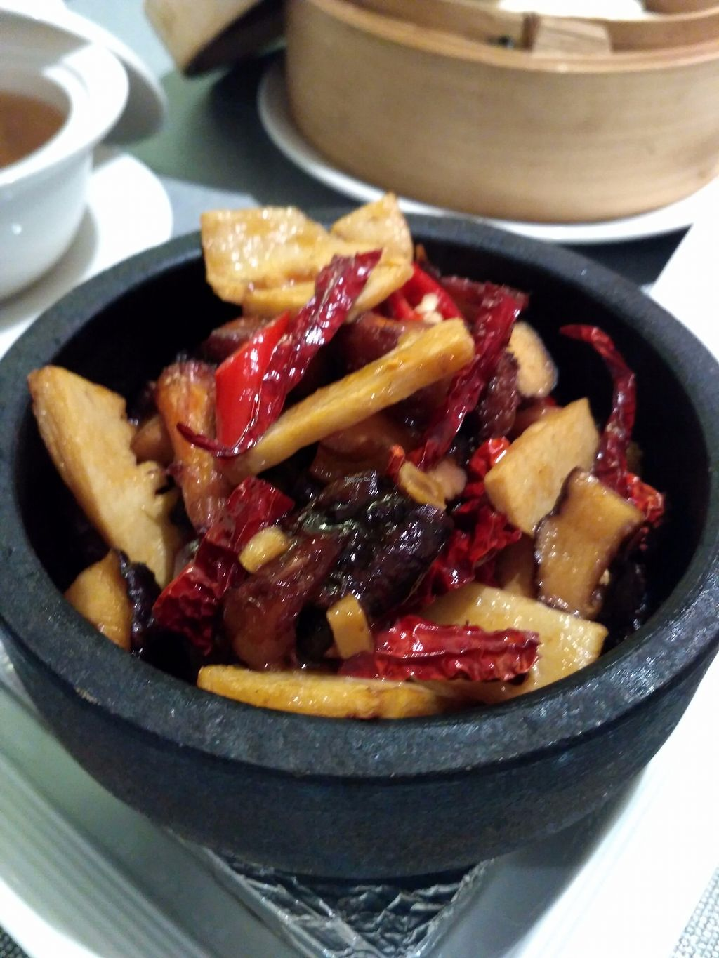 "Photo of Lotus Kitchen  by <a href=""/members/profile/Peace%20..."">Peace ...</a> <br/>Crazy for Braised Mushroom in Hot Stone Pot  <br/> July 30, 2017  - <a href='/contact/abuse/image/94977/286522'>Report</a>"