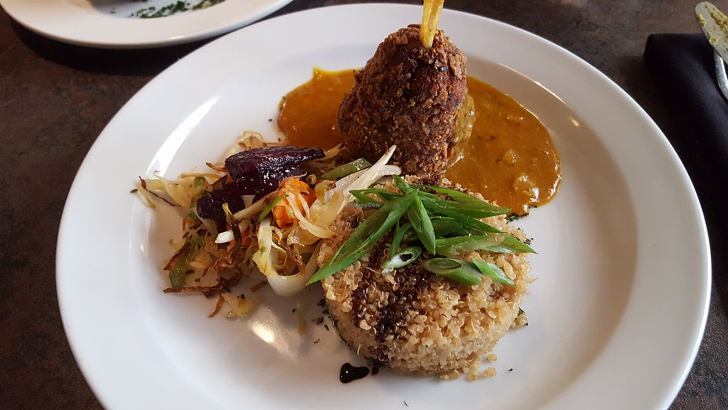 """Photo of Olive Bistro & Lounge  by <a href=""""/members/profile/IceColdIce"""">IceColdIce</a> <br/>Vegan Dragon Plate <br/> August 13, 2017  - <a href='/contact/abuse/image/94980/292327'>Report</a>"""