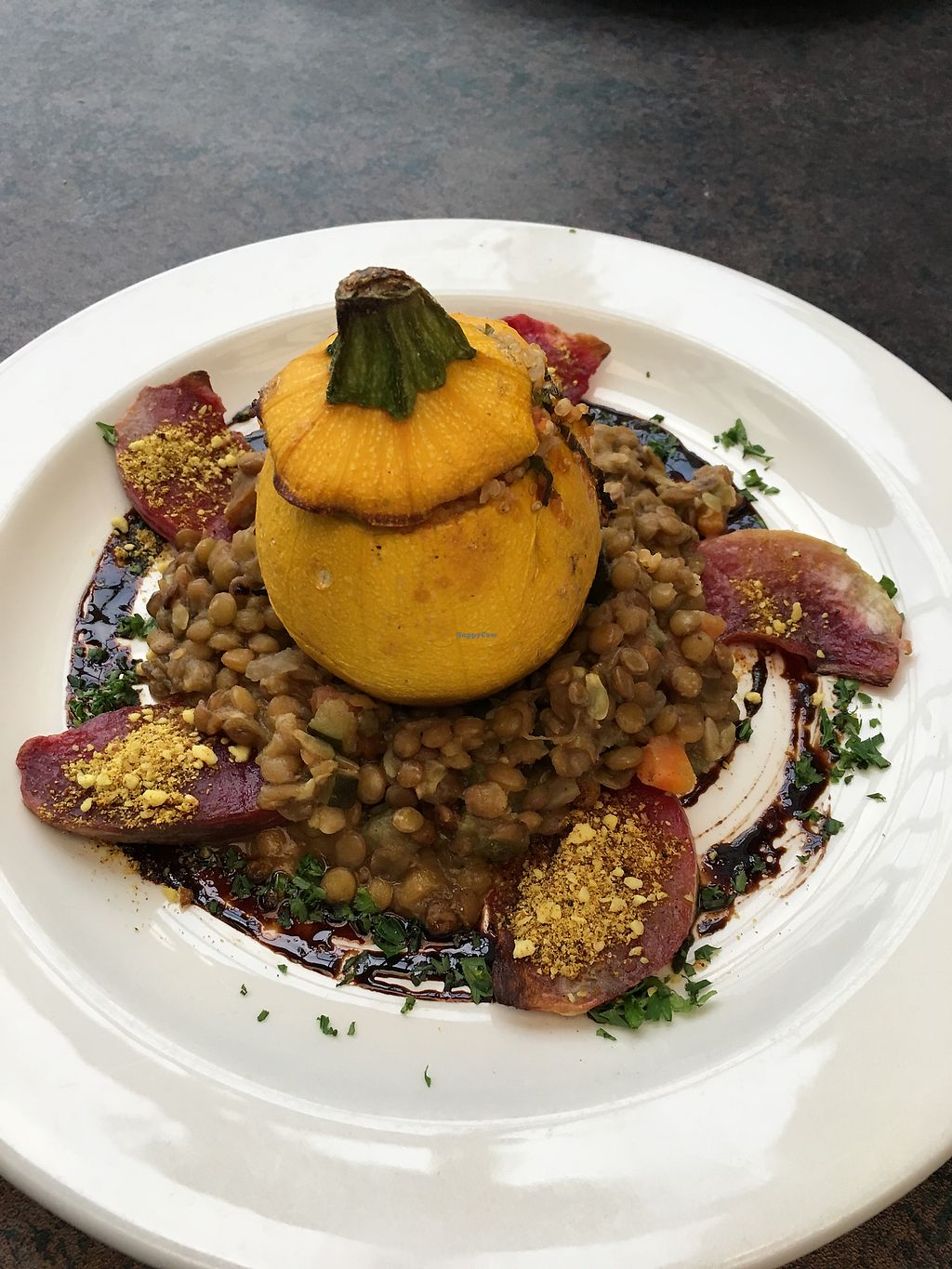 """Photo of Olive Bistro & Lounge  by <a href=""""/members/profile/beckthebomb"""">beckthebomb</a> <br/>Chefs Special Farmers Plate <br/> August 15, 2017  - <a href='/contact/abuse/image/94980/292796'>Report</a>"""