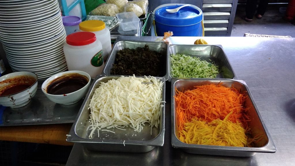 "Photo of Dharma Realm Guan Yin Sagely Monastery   by <a href=""/members/profile/ChoyYuen"">ChoyYuen</a> <br/>Choice of brown rice with assorted raw vegetables <br/> April 9, 2018  - <a href='/contact/abuse/image/9499/382966'>Report</a>"